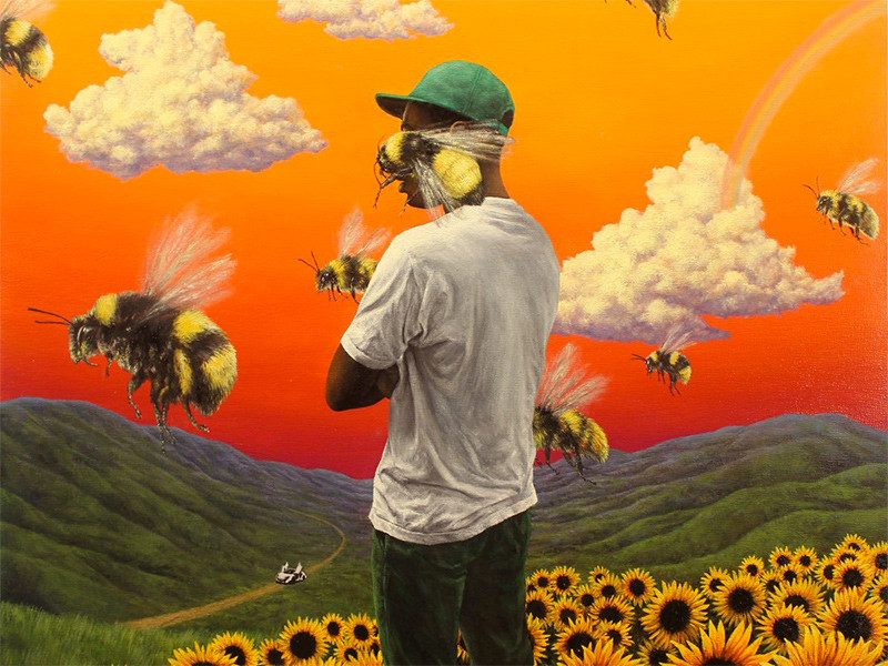 Tyler The Creator Flower Boy vinyl
