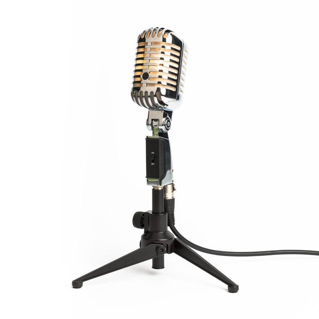 Mikrofonlampe bordlampe