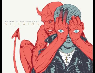 Queens of the Stone Age Villains cd vinyl deluxe vinyl