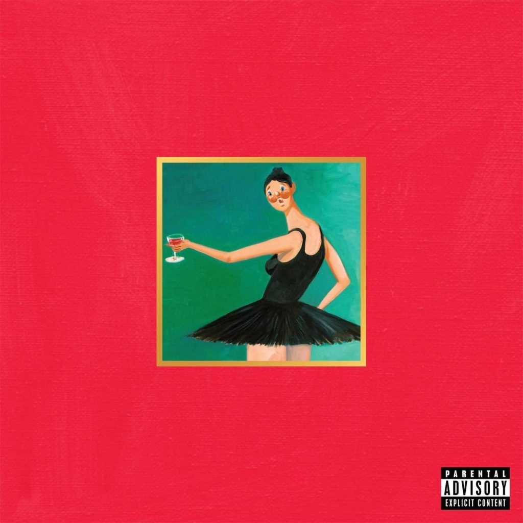Kanye West My Beautiful Dark Twisted Fantasy på vinyl.