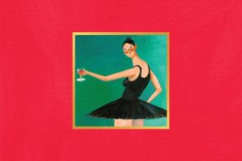 Kanye West My Beautiful Dark Twisted Fantasy på vinyl.