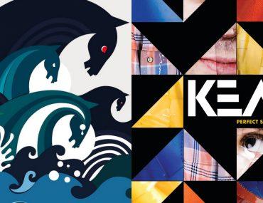 Keane - Under the Iron Sky + Perfect Symmetry - på vinyl.