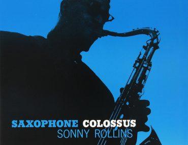 Sonny Rollins - Saxophone Colossus - på vinyl cover.
