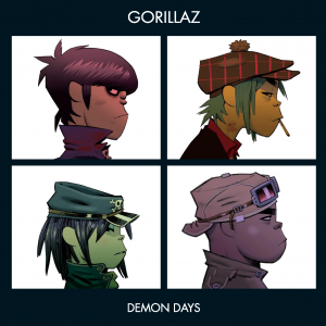 Gorillaz Demon Days vinyl