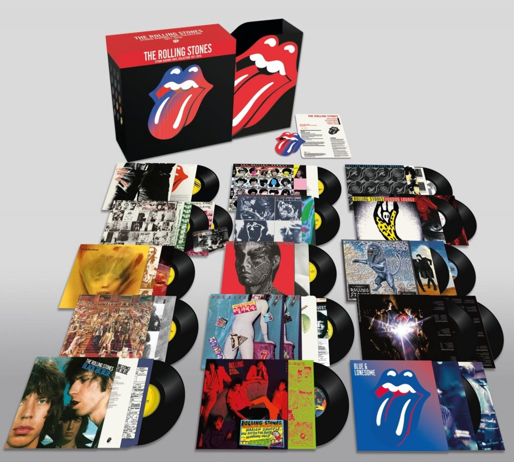 The Rolling Stones The Studio Albums Vinyl Collection 1971-2016 på vinyl