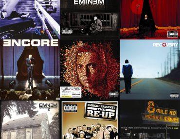 Eminem kampagne på vinyl