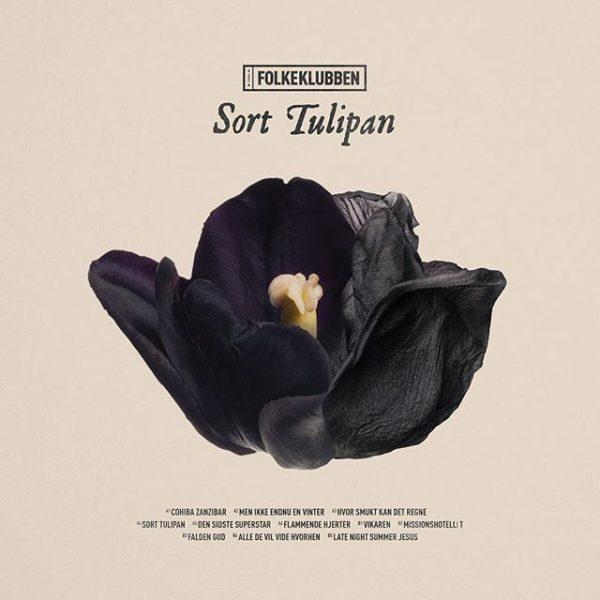 Folkeklubben Sort Tulipan vinyl og cd