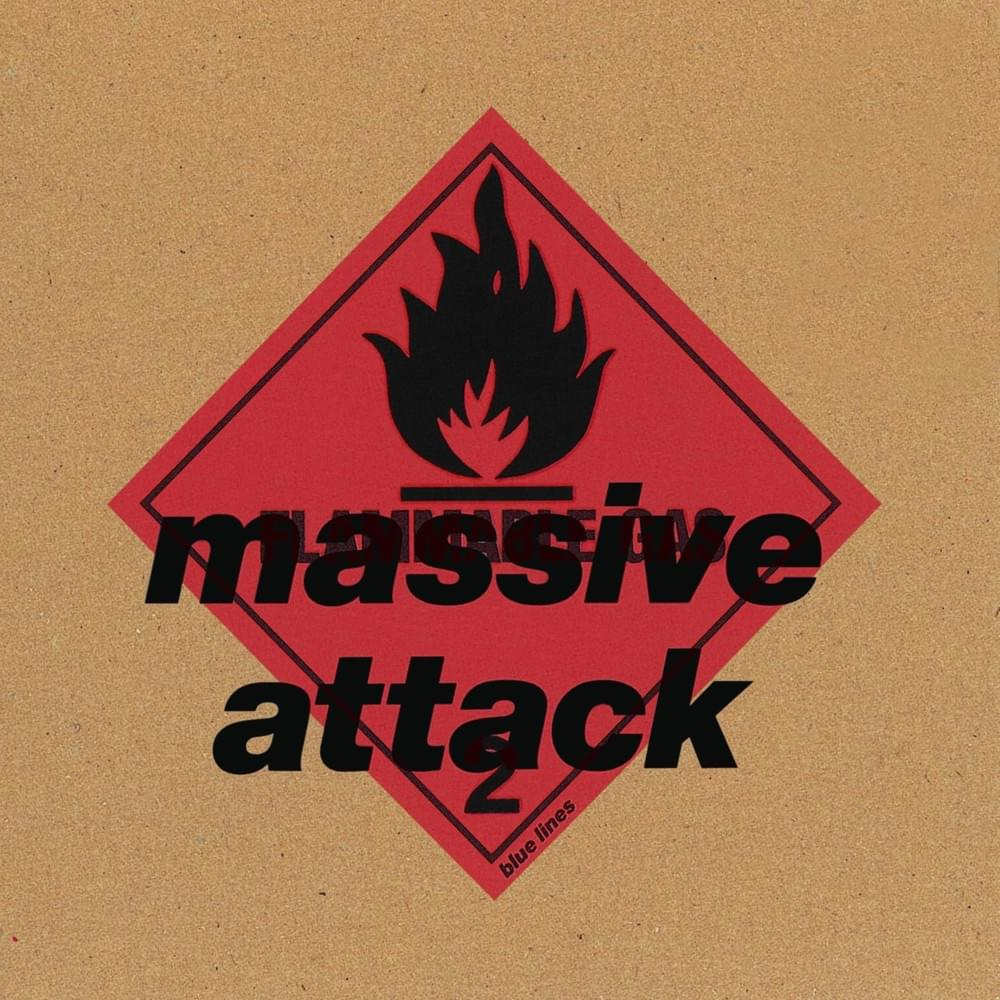 Massive Attack - Blue Lines vinyl