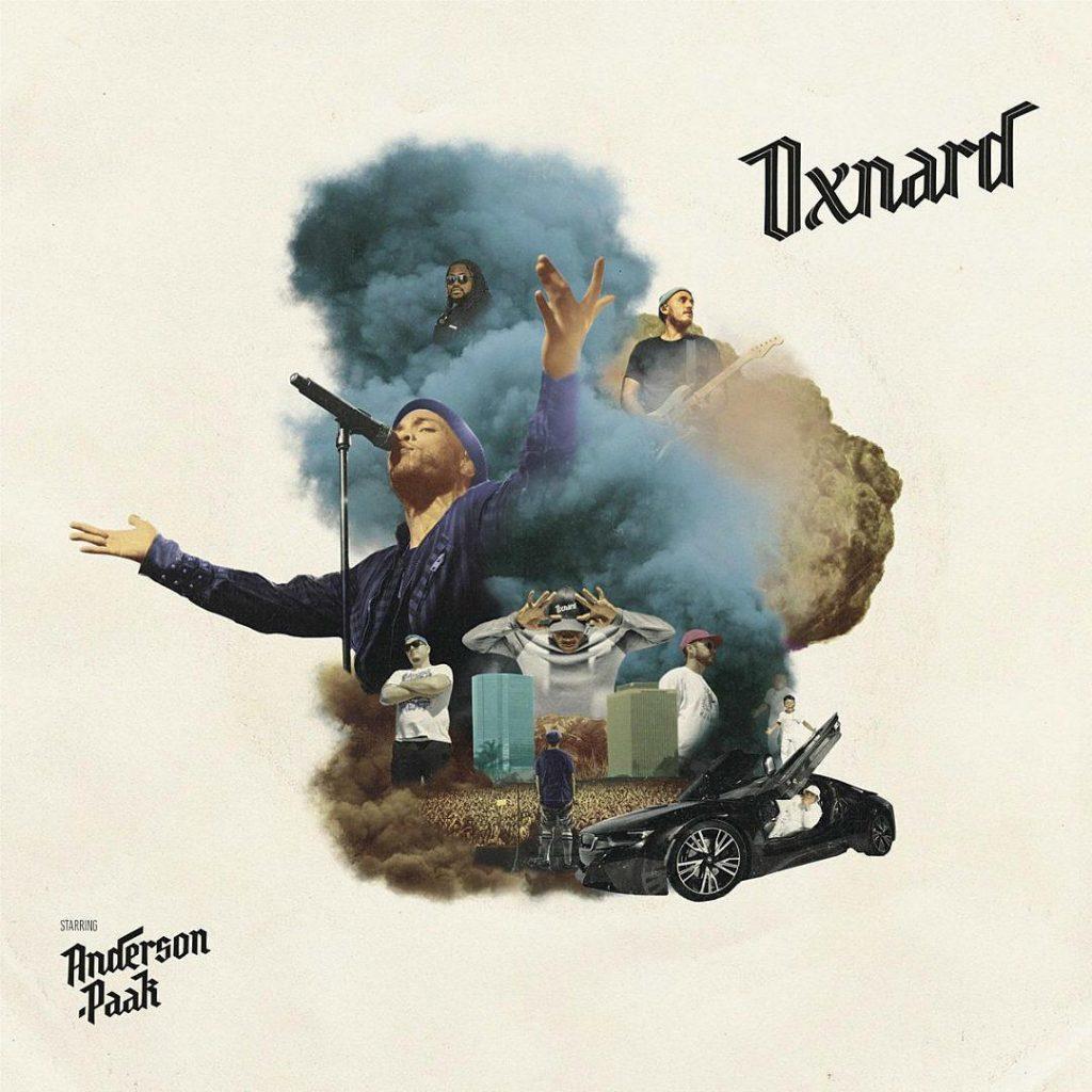 Anderson .Paak Oxnard vinyl cd