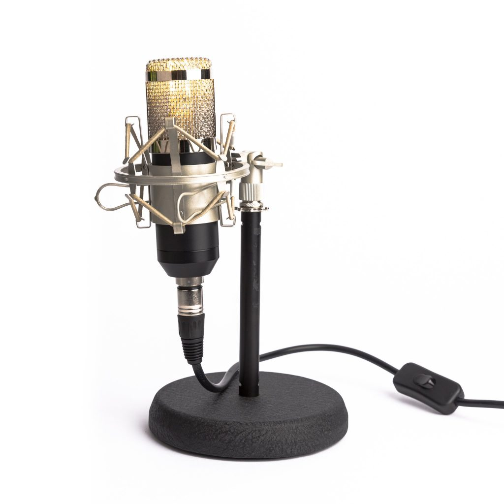 microphonemania studio bord lampe1