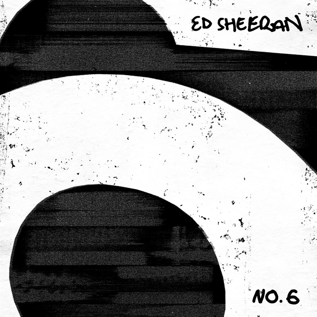 Ed Sheeran No.6 Collaborations Project - albumcover - cd og lp