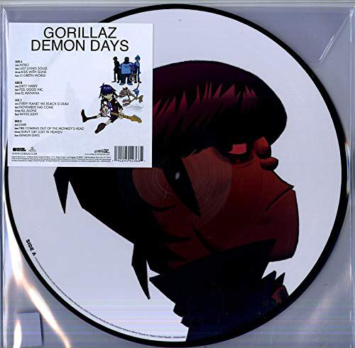 gorillaz demon days picture disc