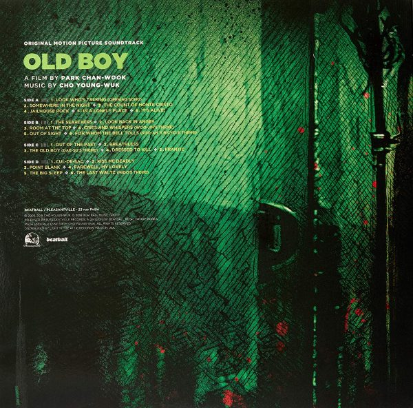 Cho Young-Wuk - Oldboy OST (Record Store Day 2018)