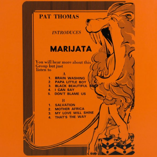 Pat Thomas Introduces Marijata