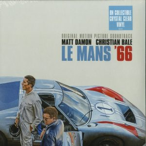 Various Artists - Le Mans' 66 OST (Crystal Clear Vinyl)